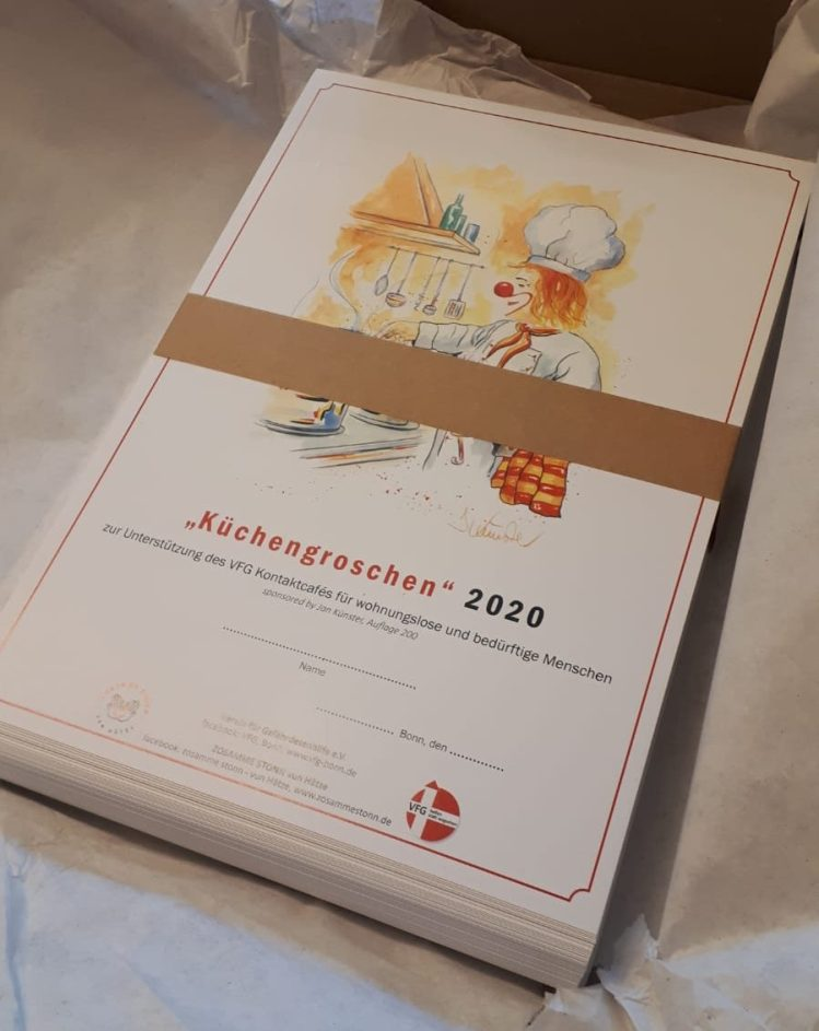 Urkunde Küchengroschen